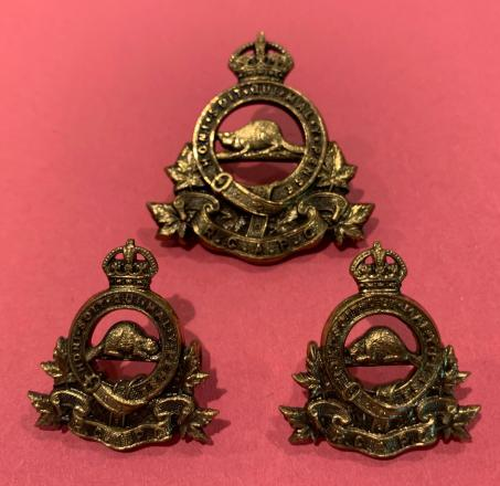 RCAPC Officer Cap Badge and Collars